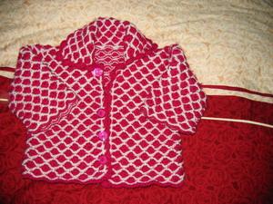 这是我婆婆织的
