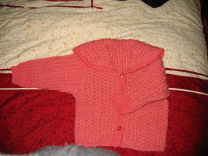 这是我妈妈织的