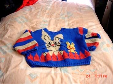 女儿毛衣2