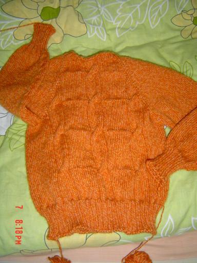 我女儿的毛衣