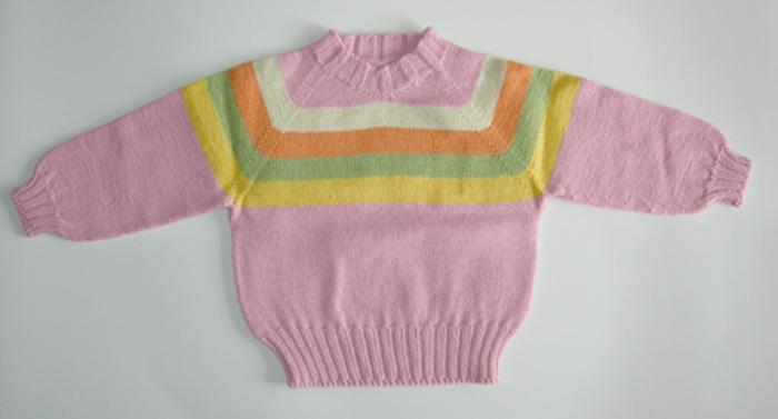 是奶奶编织的