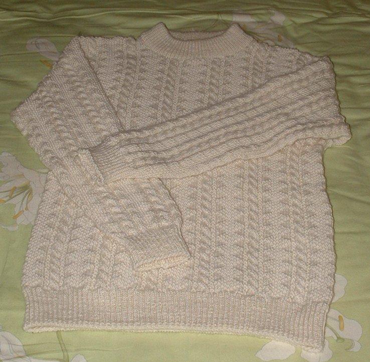第一次织衣服