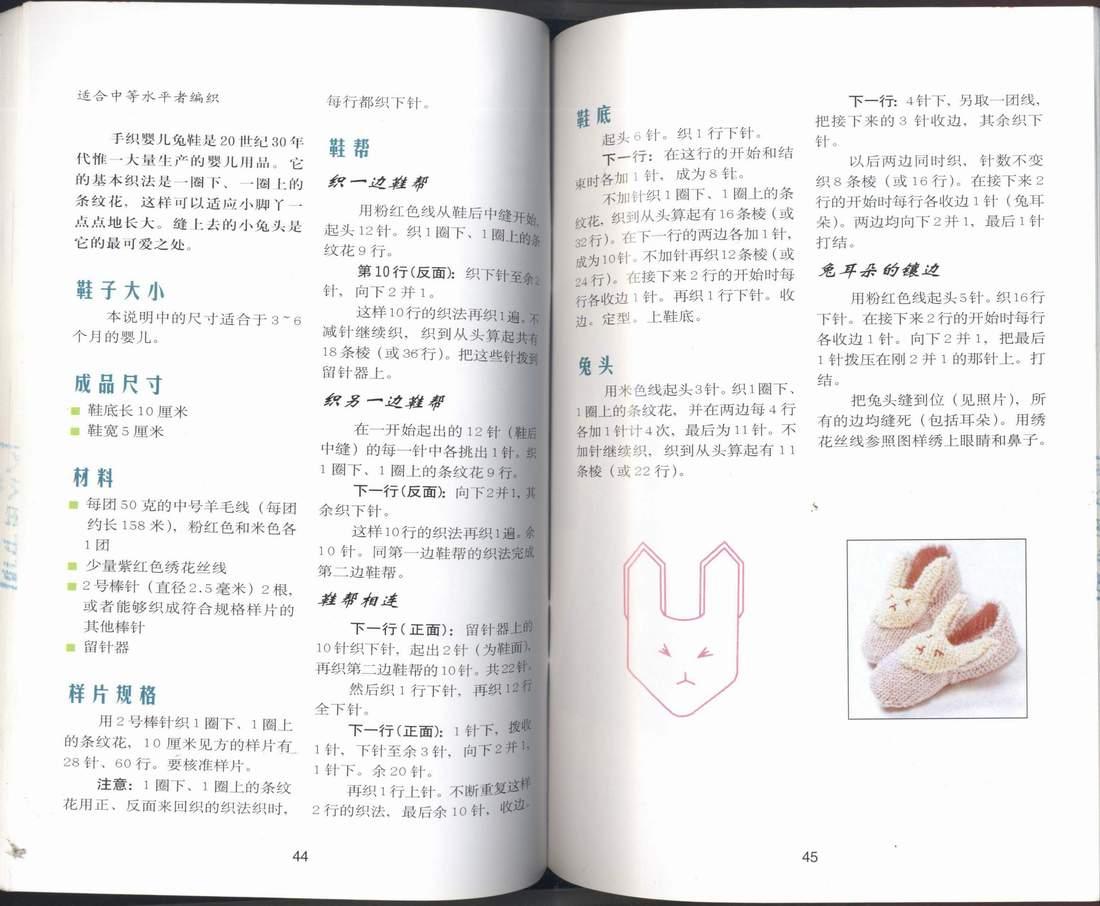 婴儿兔头鞋