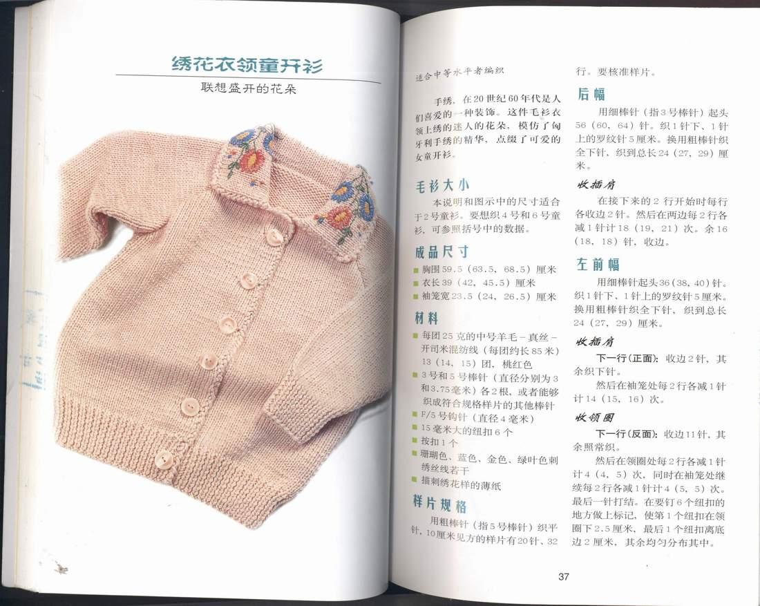 绣花衣领童衫