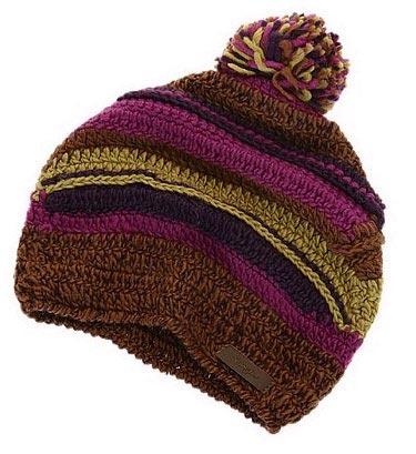 筒状毛线帽,选些有质感的材料可以更有型