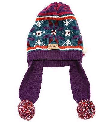 盖耳线帽,让冬天的你显得格外俏丽和可爱