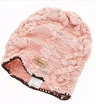 粉色编织打造娇媚美眉