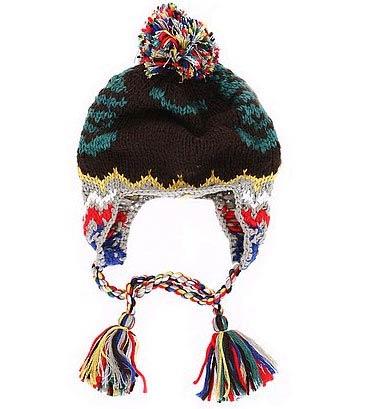 色彩艳丽的毛线混搭,俏丽又不失质感