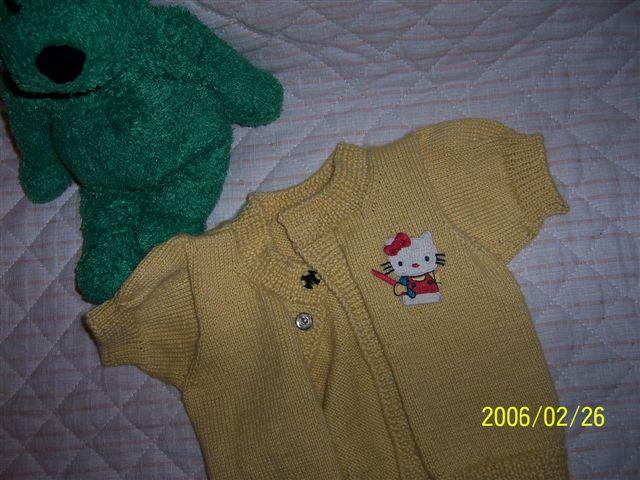 小短袖毛衣