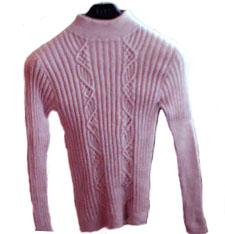 在流行前线那买的羊绒线,打了几个月终天完工了