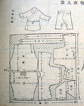 婴儿服装裁剪图_服装设计与裁剪