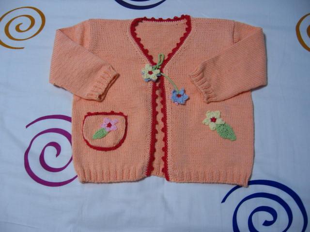 女孩的小毛衣