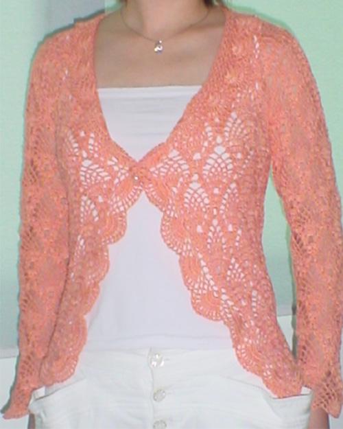 橙色菠萝花衣衣
