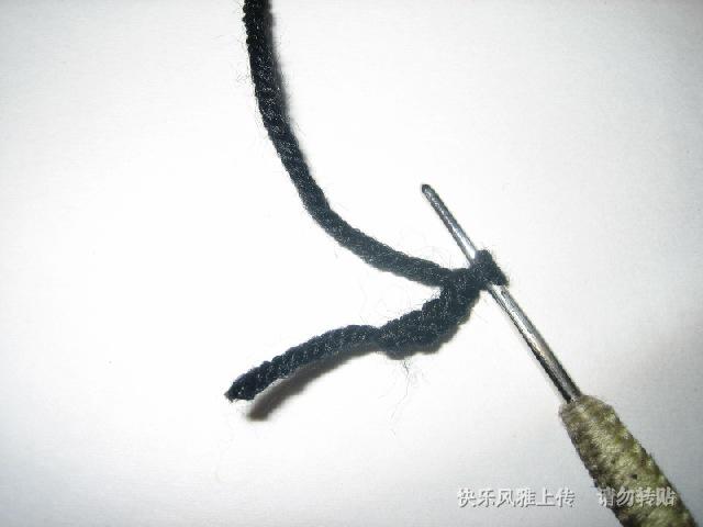 起四针辫子针