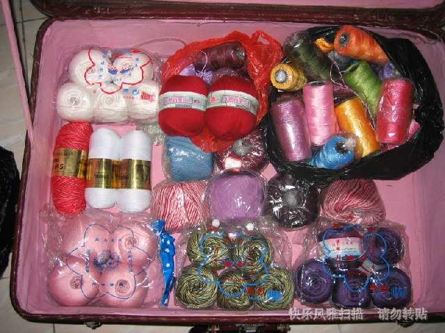 傻可儿丝光棉、尼龙线、精品羊绒线及高级棉线(用来钩贴身衣服最合适)