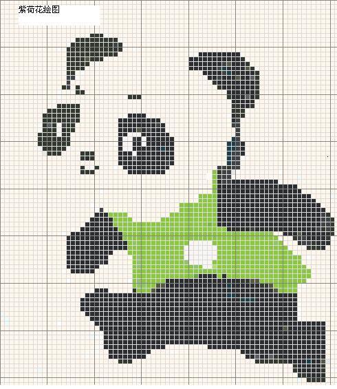 编织动物图案图解