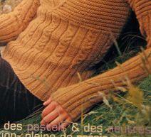 织至胸下的麻花