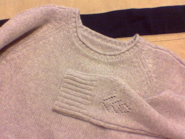 用了160克羊绒线,非常精致