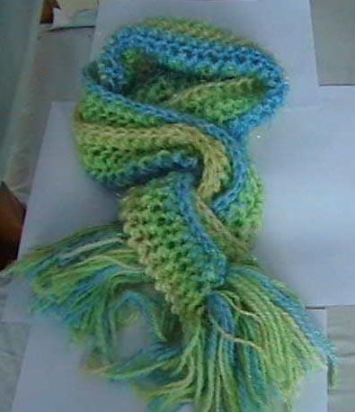 喜欢的围巾样子