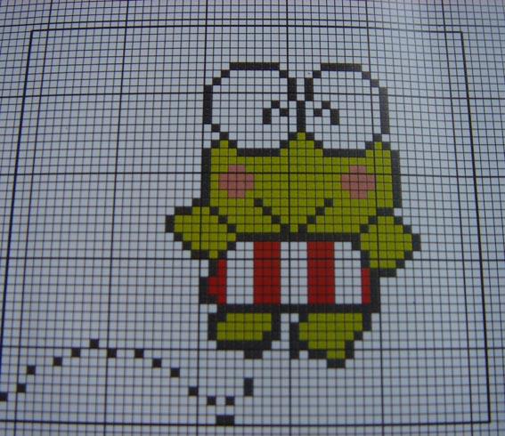 小青蛙图案