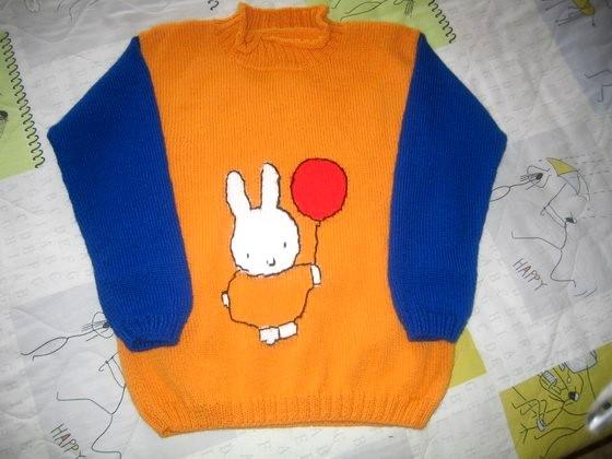 侄女的 MIFFY 毛衣.jpg
