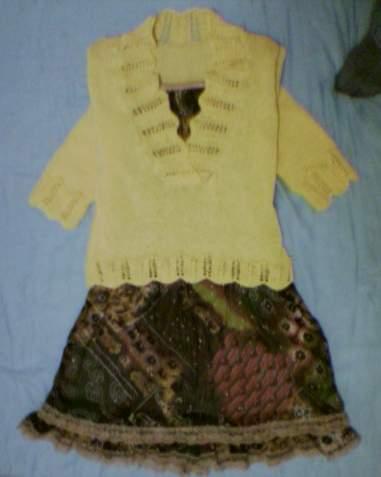 另外配了件今年刚买的雪纺吊带裙