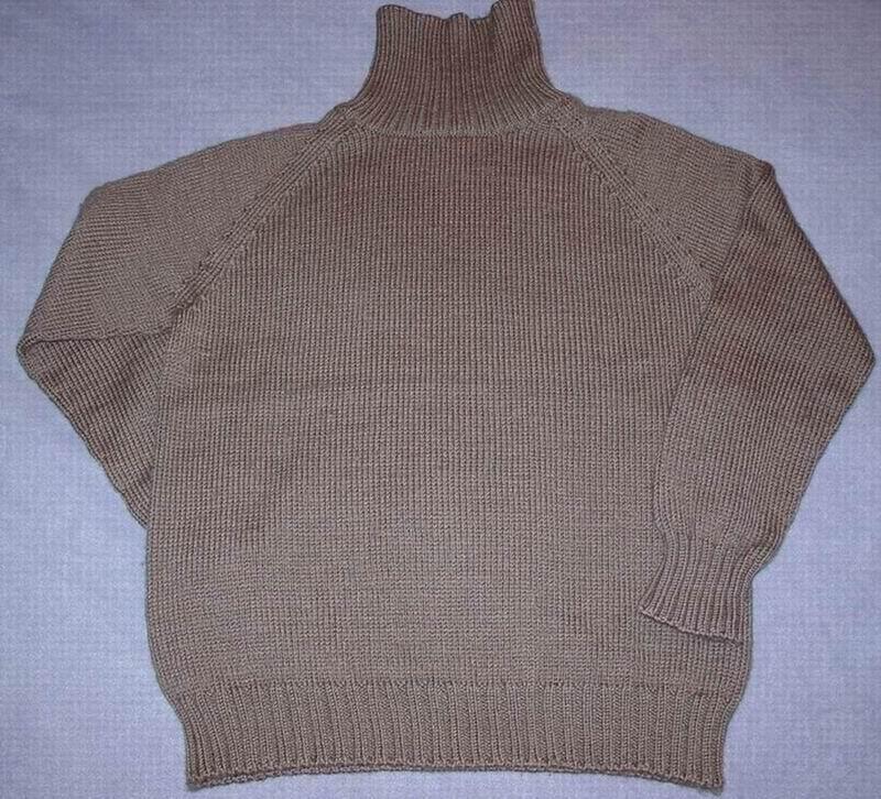 给儿子打的毛衣
