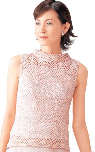 粉红褛空无袖衫A.jpg