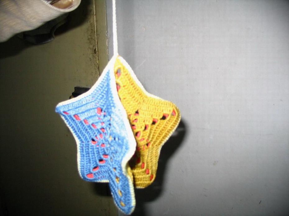 剪纸花链步骤图