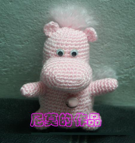 粉红小河马