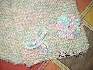 杂色帽子围巾(立体花)4.JPG