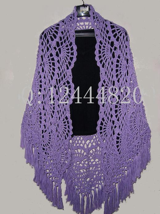 材料:普通棉纺线,用5号针。