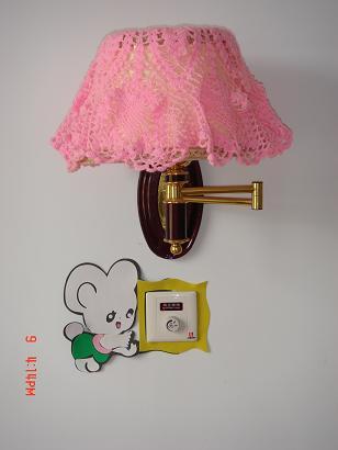 69 钩针编织作品秀 69 2005-2010年归档 69 壁灯罩     一个是