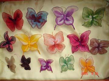 蝴蝶的集体照