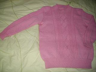 给女儿织的衣衣