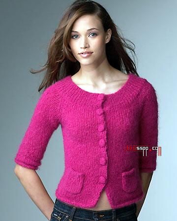 我准备织的毛衣