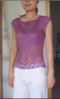 紫色冰丝 三两