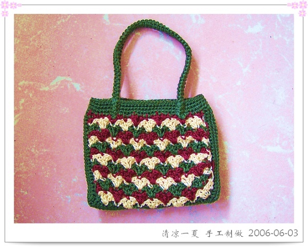 手工编织手包
