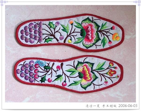 手工制做的鞋垫(民间工艺)2