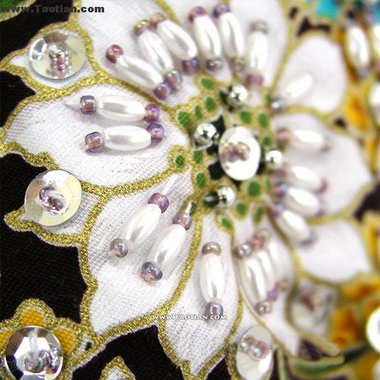 欧洲流行元素(刺绣&珠绣)欣赏