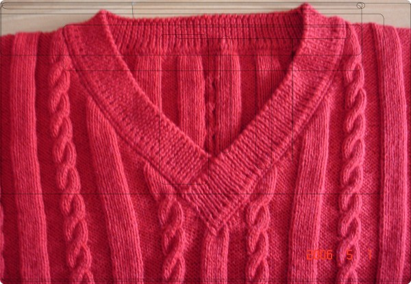 深红绵羊绒2#