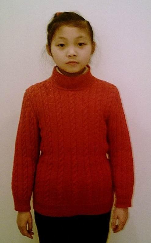 深红绵羊绒1#