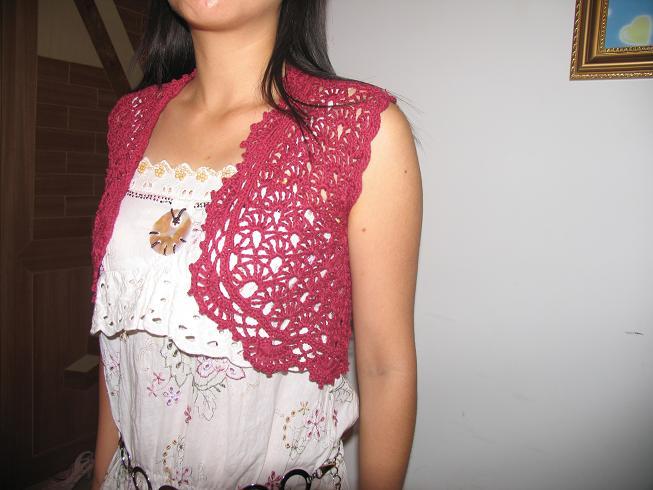 紫红小披肩