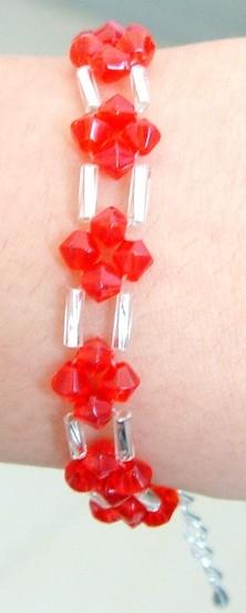 大红水晶的手链2