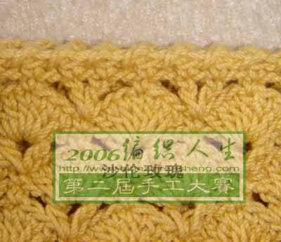 沙伦玫瑰 漂亮简约纯手工钩针淑女包 有详细的钩织过程图高清图片
