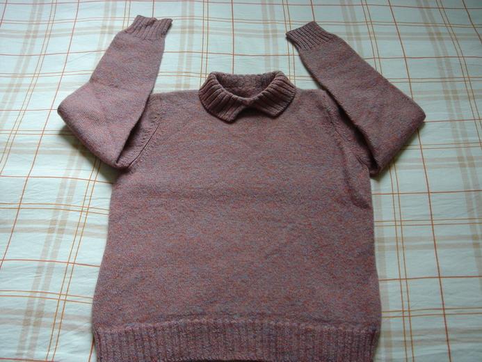 给自己的毛衣