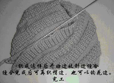 帽子成型图