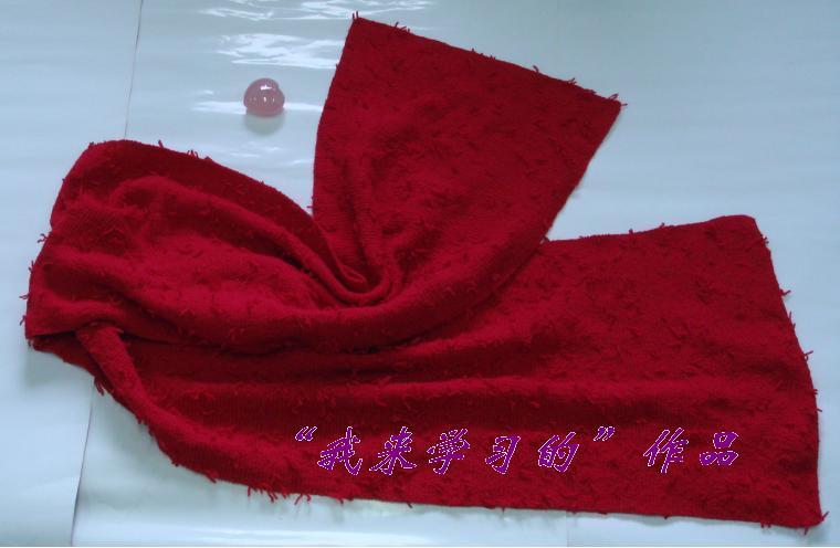 红色披肩.JPG