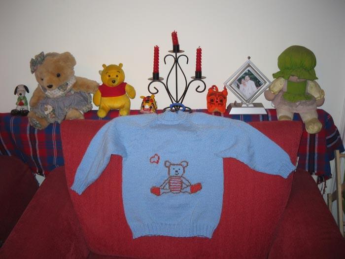 小侄的毛衣