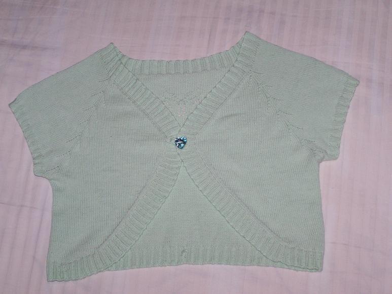 棉线衣的正面